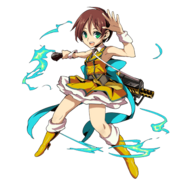Biohazard Clan Master X Final Fantasy Brigade - Rebecca