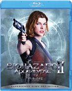 Resident Evil Apocalypse Japanese Blu-ray - front