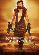 Resident Evil Extinction poster 4