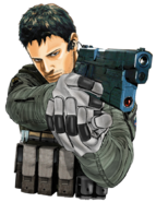 Chris redfield png by kingdomdestiny-d6qkvvj