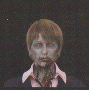 Degeneration Zombie face model 60