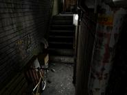 Resident Evil 3 background - Uptown - warehouse back alley d2 - R11D03