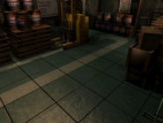 Resident Evil 3 background - Uptown - warehouse q - R1011A