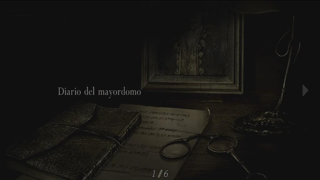 Diario del mayordomo