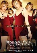 Resident Evil Extinction poster 5