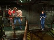 RE2(1998)G1-Gameplay-2