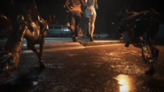 RE2 remake The Ghost Survivors clear screen - Katherine