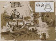 Resident Evil 5 Ndipaya Kingdom concept art 10