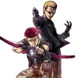 Biohazard Clan Master Wesker and Krauser