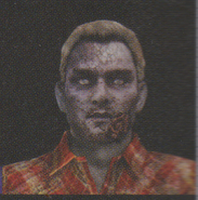 Degeneration Zombie face model 62