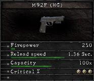 RESIDENT EVIL5 M92F max