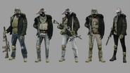 Hound Wolf Squad Concept Art