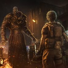 Carlso facing Nemesis concept art RE3make .jpg