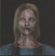 Degeneration Zombie face model 7