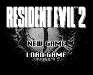 Tiger Resident Evil 2 - Start menu