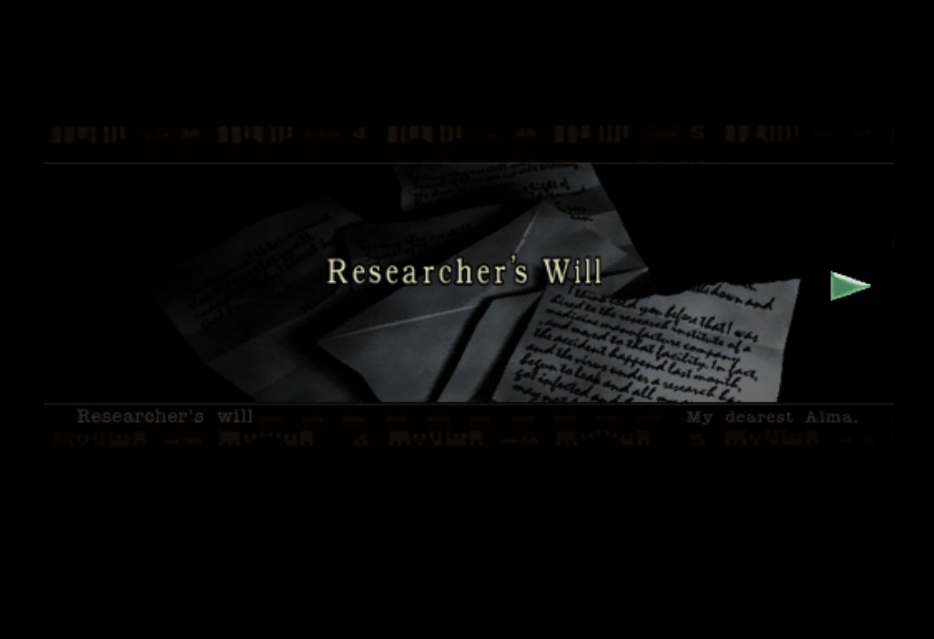 Researcher's Will