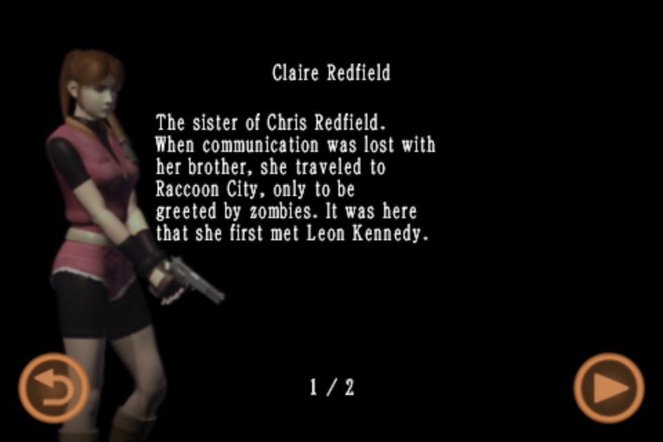 Claire Redfield (Mobile Edition file)