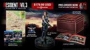 Resident Evil 3 remake collector's edition poster