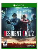 RE2 Xbone Cover