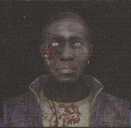 Degeneration Zombie face model 25