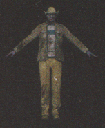 Degeneration Zombie body model 48