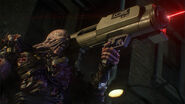 Nemesis with Rocket Launcher RE3 Remake