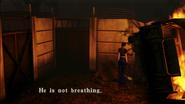 Resident Evil CODE Veronica - Guardtower plaza - examines 01