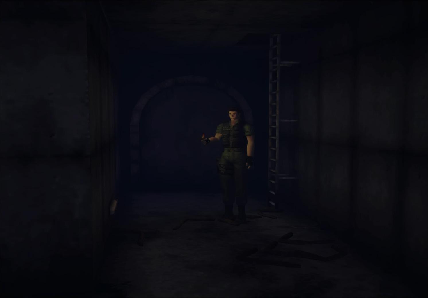 Military Training Center/Hidden passage