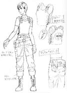 REmake Rebecca Concept Art