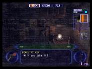Resident Evil Outbreak items - Forklift Key 01