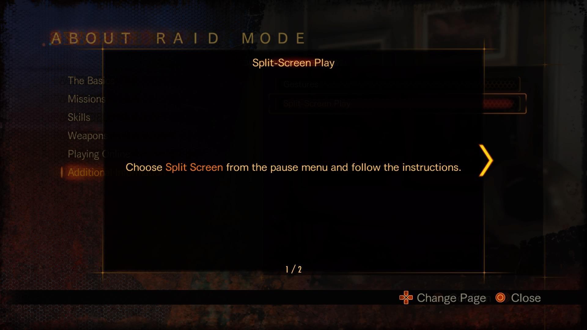 Split-Screen Play