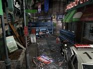 Resident Evil 3 background - Uptown - boulevard f1 - R10305