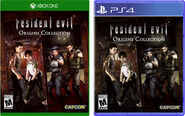 Resident Evil Origins Collection-PS4-XboxOne-Box Art NA