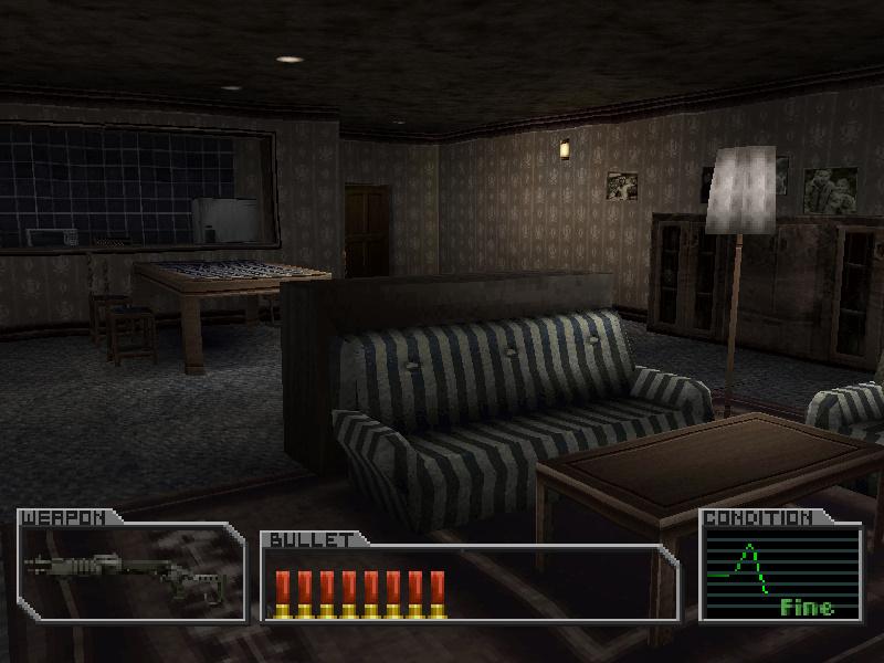 Living room (Lott's house)