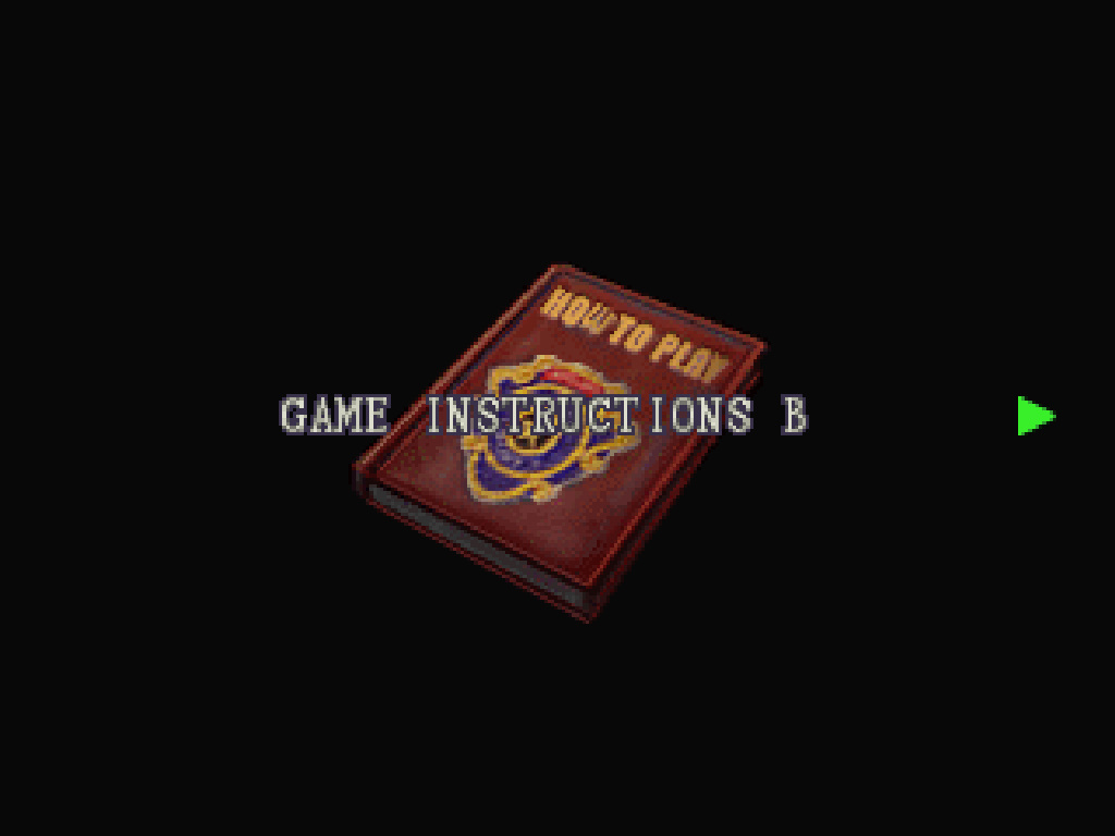 Game Instructions B