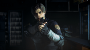 Leon front view - Resident Evil 2 remake