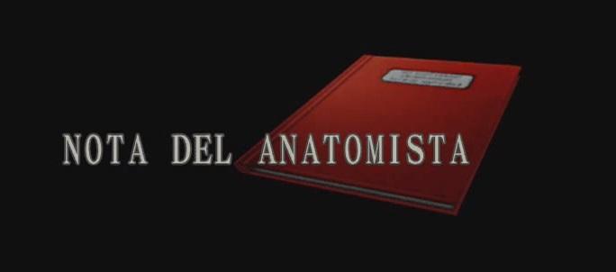 Nota del anatomista