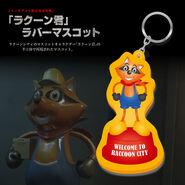 RE3 remake JP Mr. Raccoon keychain bonus (1)