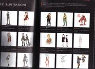 BIOHAZARD REVELATIONS 2 Concept Guide - EX costumes concepts