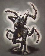 Resident Evil 5 - Reaper concept art