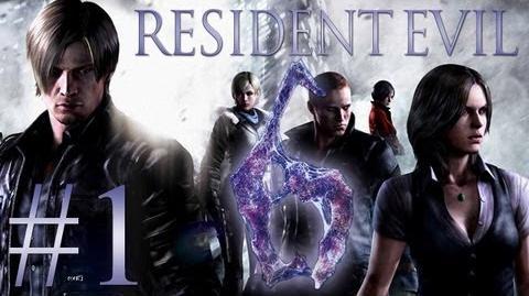 Resident Evil 6 1 - Let's Play Resident Evil 6 Gameplay German
