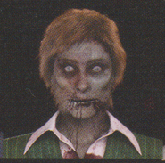 Degeneration Zombie face model 50