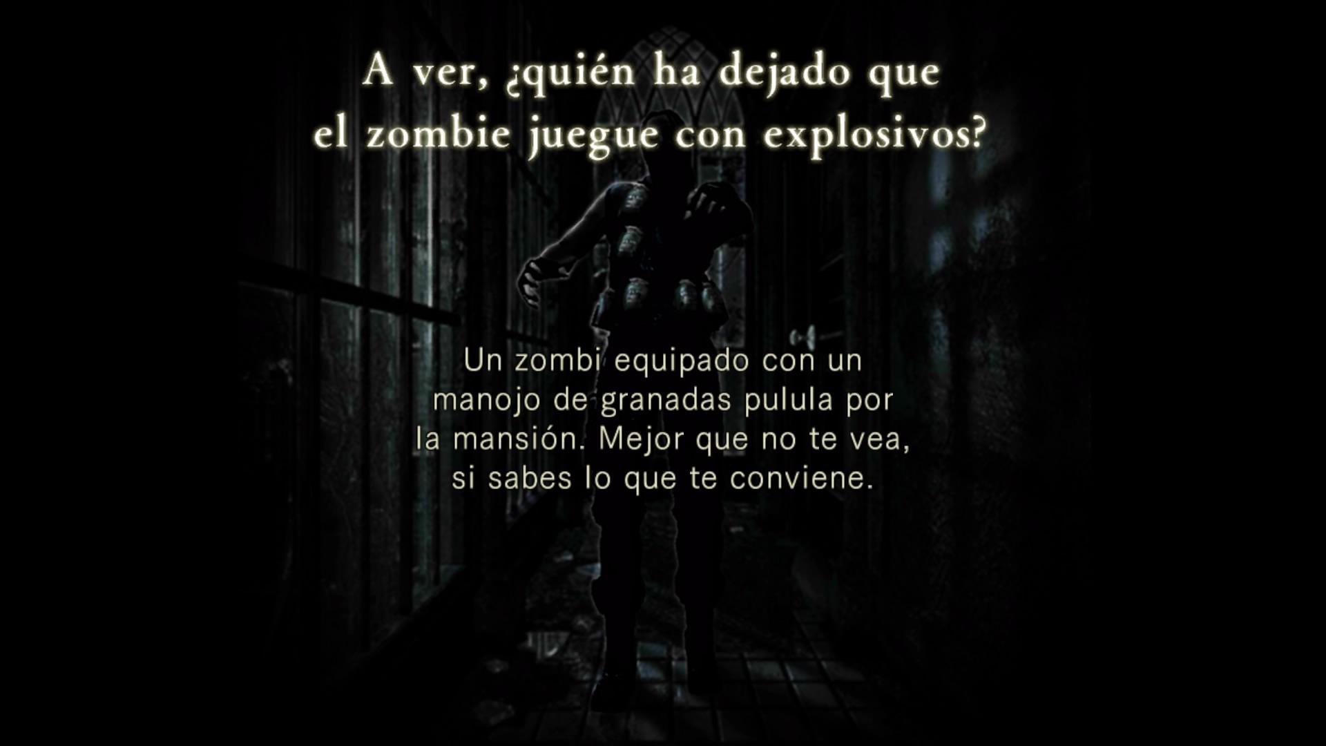 Un zombi peligroso