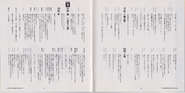 BIO HAZARD The Doomed Raccoon City Vol.1 booklet - pages 10 and 11