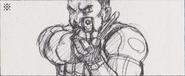 Leon vs. Chris storyboard 6