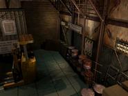 Resident Evil 3 background - Uptown - warehouse b1 - R10109