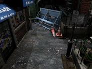 Resident Evil 3 background - Uptown - boulevard l1 - R1030B