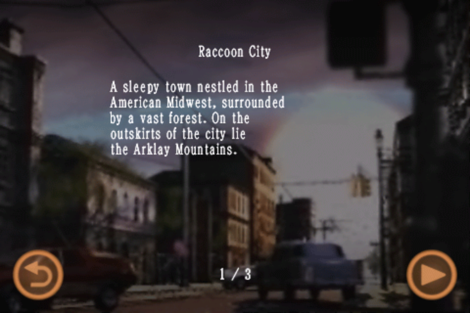 Raccoon City (Mobile Edition file)