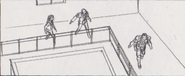 Leon vs. Chris storyboard 26