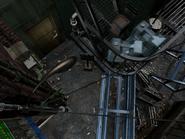 Resident Evil 3 background - Uptown - boulevard n1 - R1030D